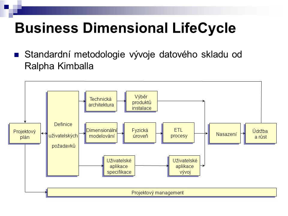 Business Dimensional LifeCycle