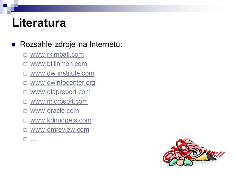 Literatura Rozsáhle zdroje na Internetu: www.rkimball.com