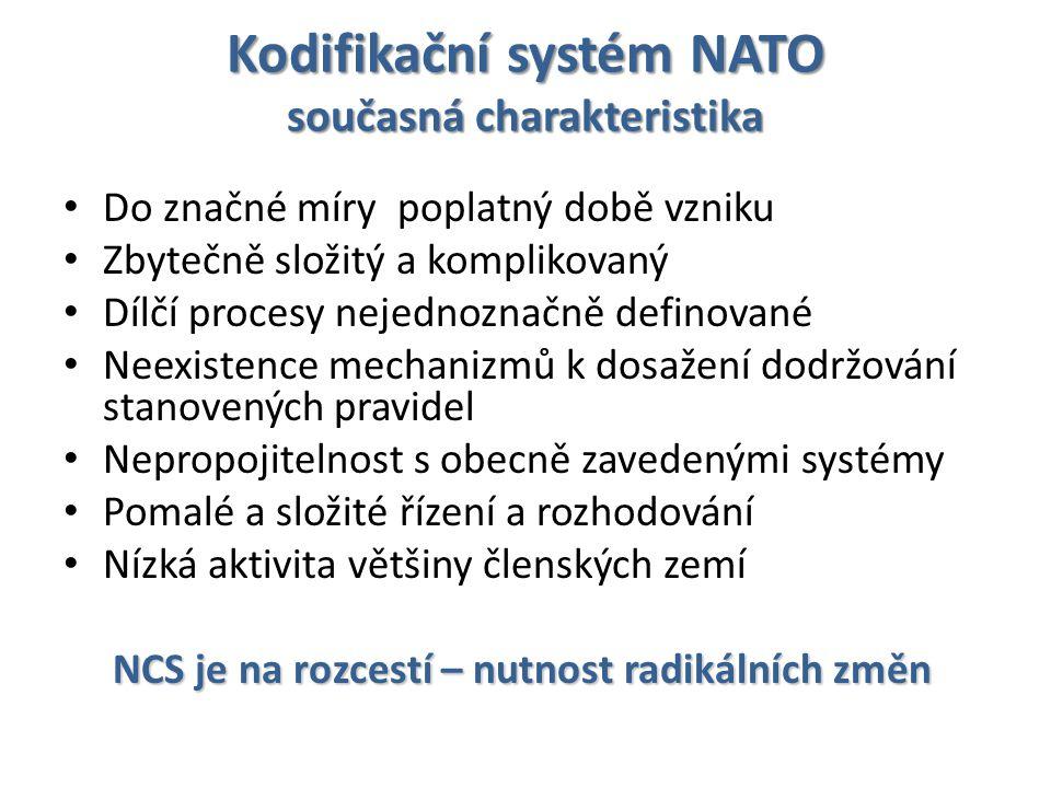 Kodifikační systém NATO současná charakteristika
