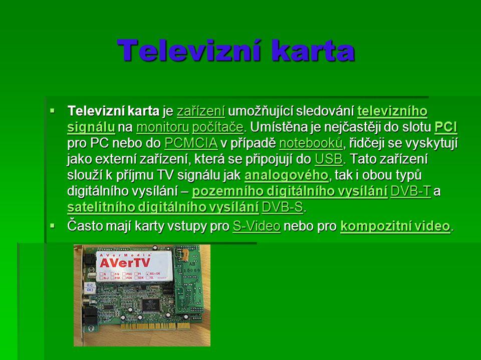 Televizní karta