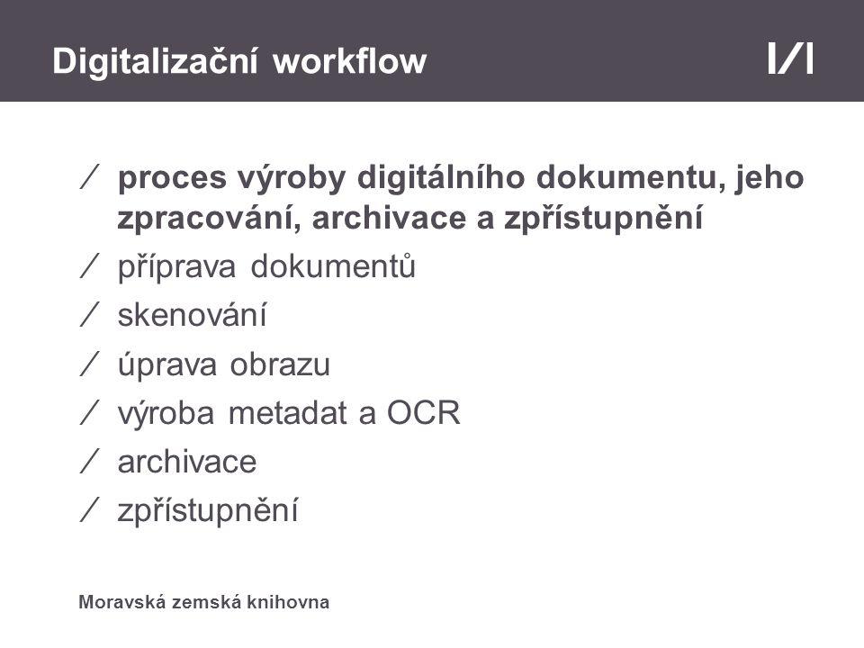 Digitalizační workflow