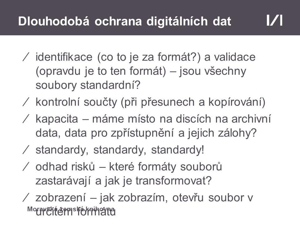 Dlouhodobá ochrana digitálních dat