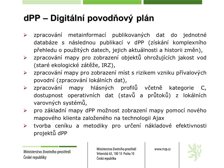 dPP – Digitální povodňový plán