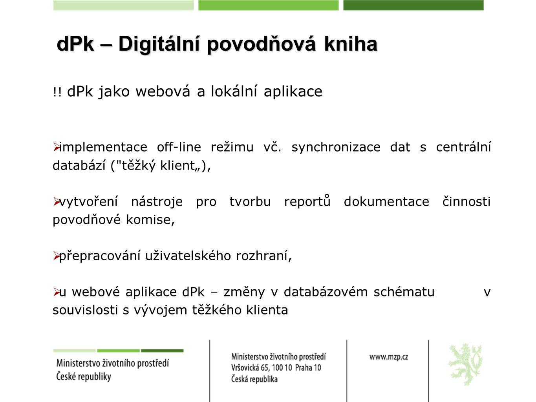 dPk – Digitální povodňová kniha
