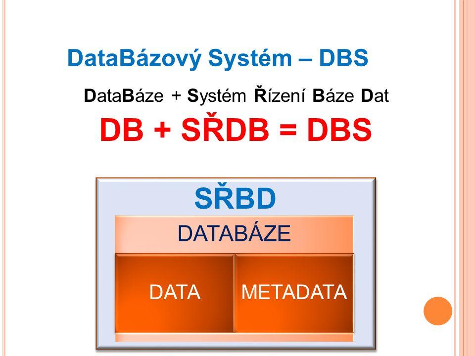 DataBázový Systém – DBS