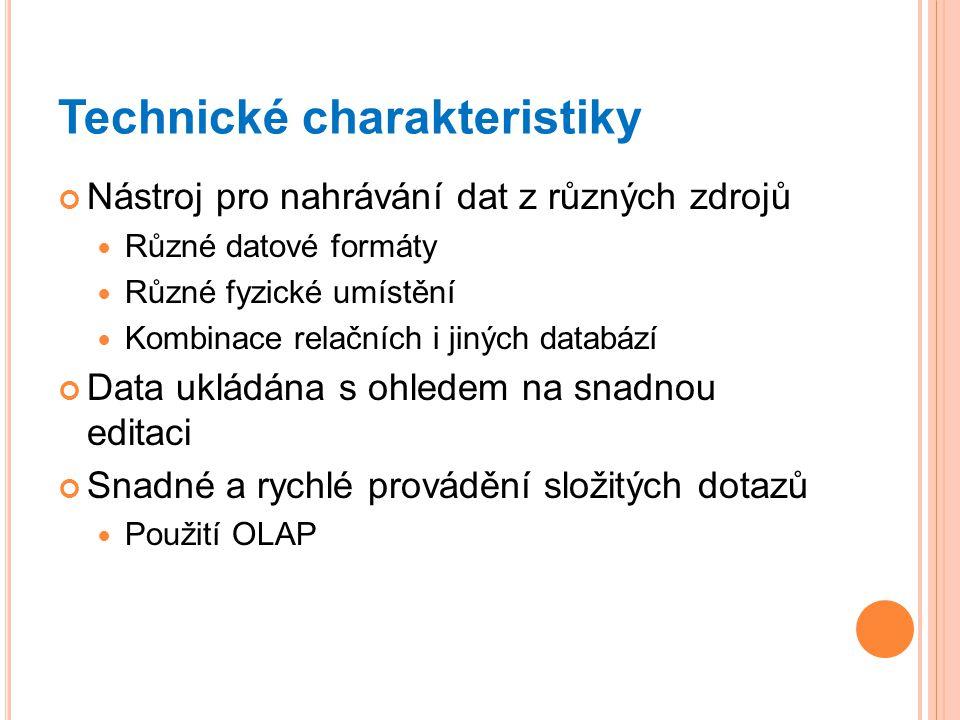 Technické charakteristiky