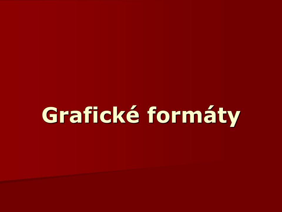 Grafické formáty