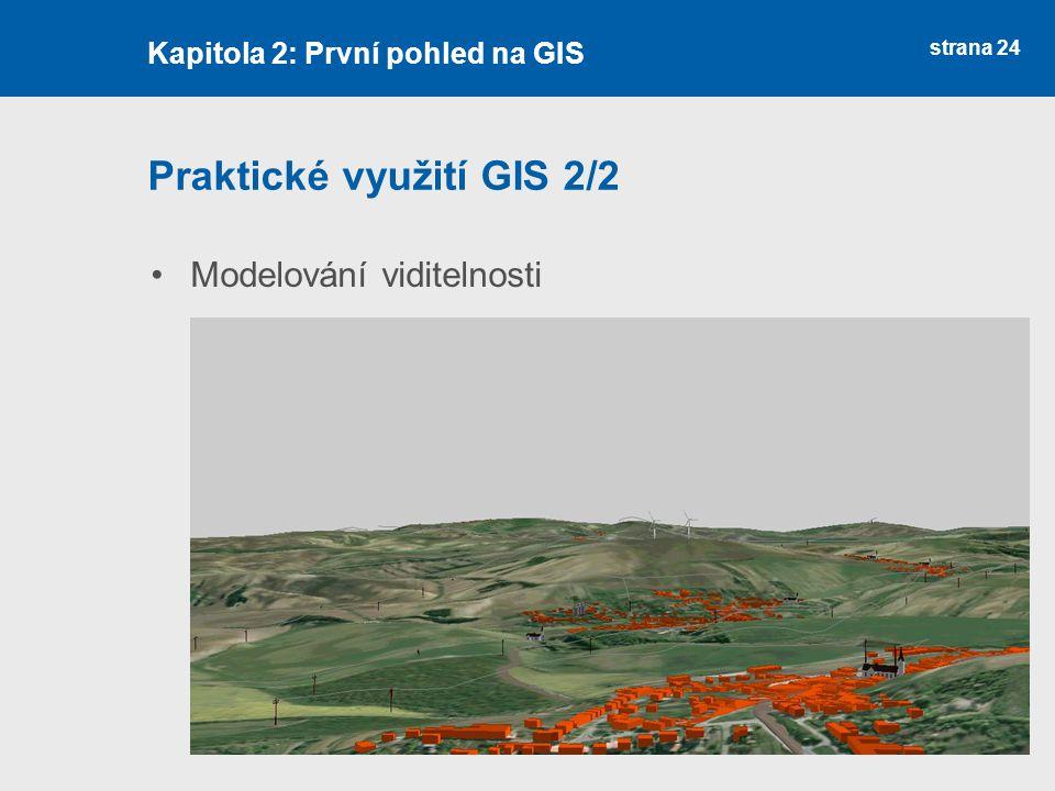 Praktické využití GIS 2/2
