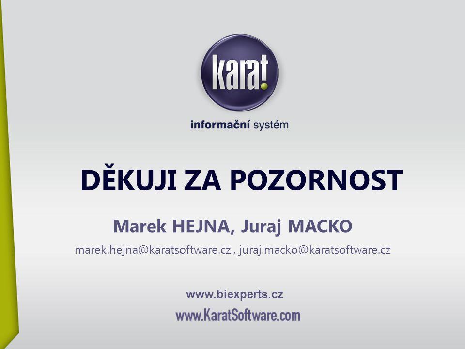 Marek HEJNA, Juraj MACKO