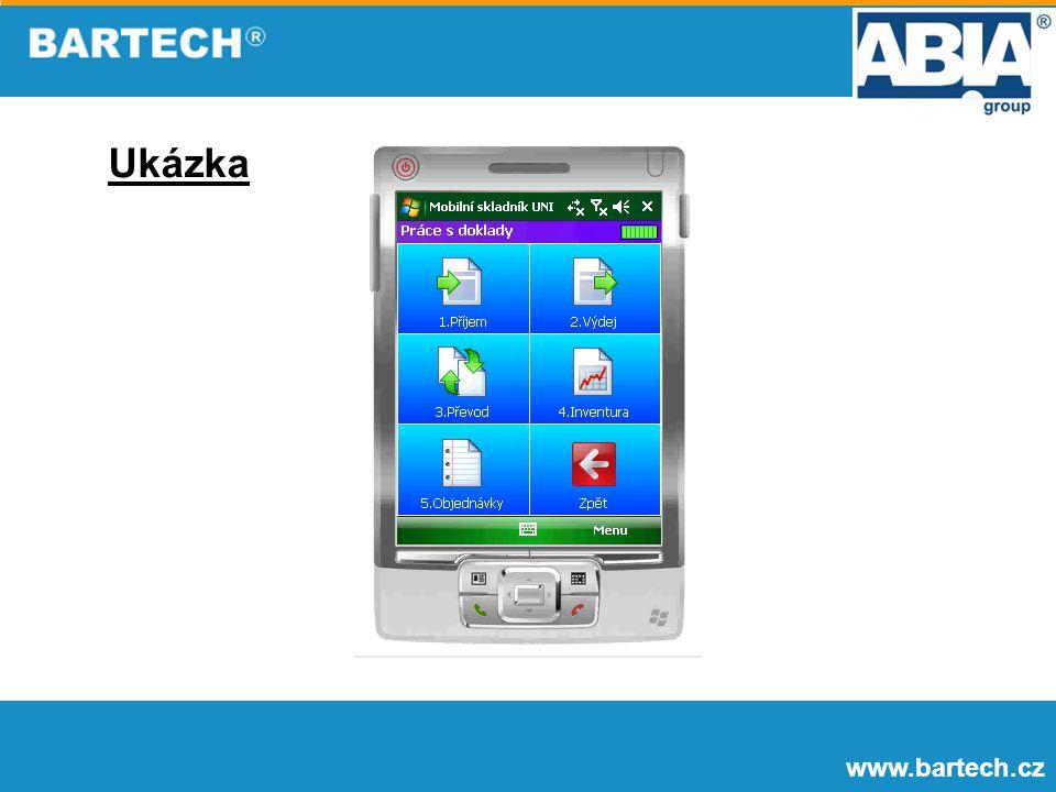 Ukázka www.bartech.cz