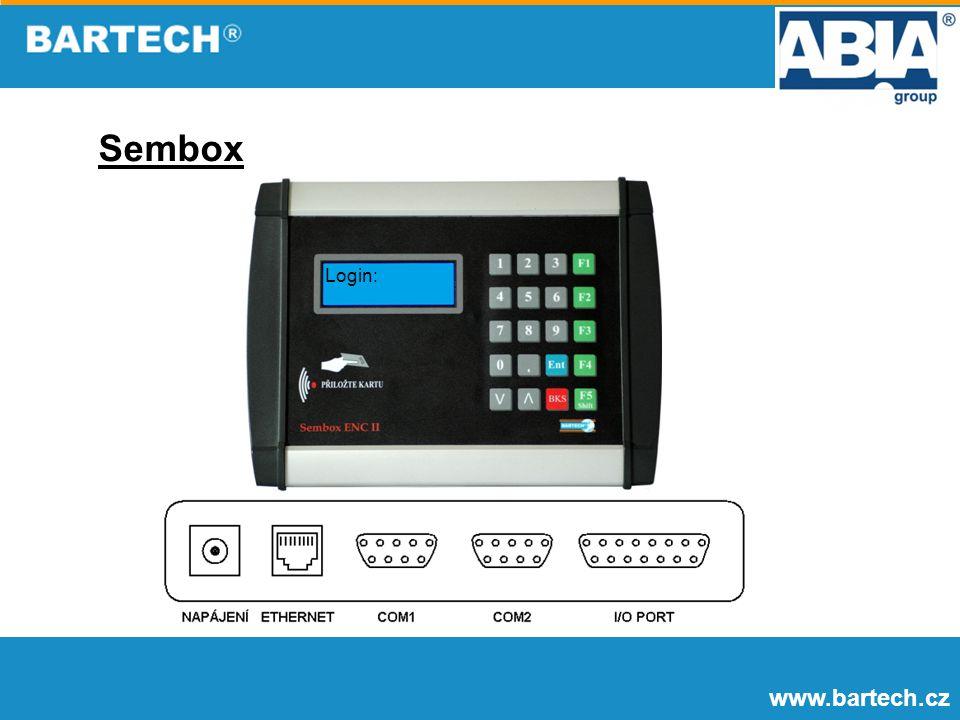 Sembox Login: www.bartech.cz