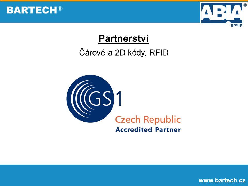 Partnerství Čárové a 2D kódy, RFID www.bartech.cz
