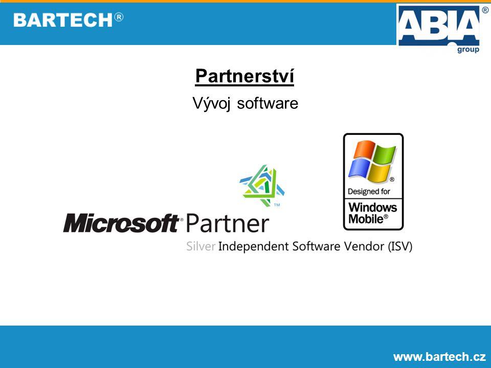 Partnerství Vývoj software www.bartech.cz