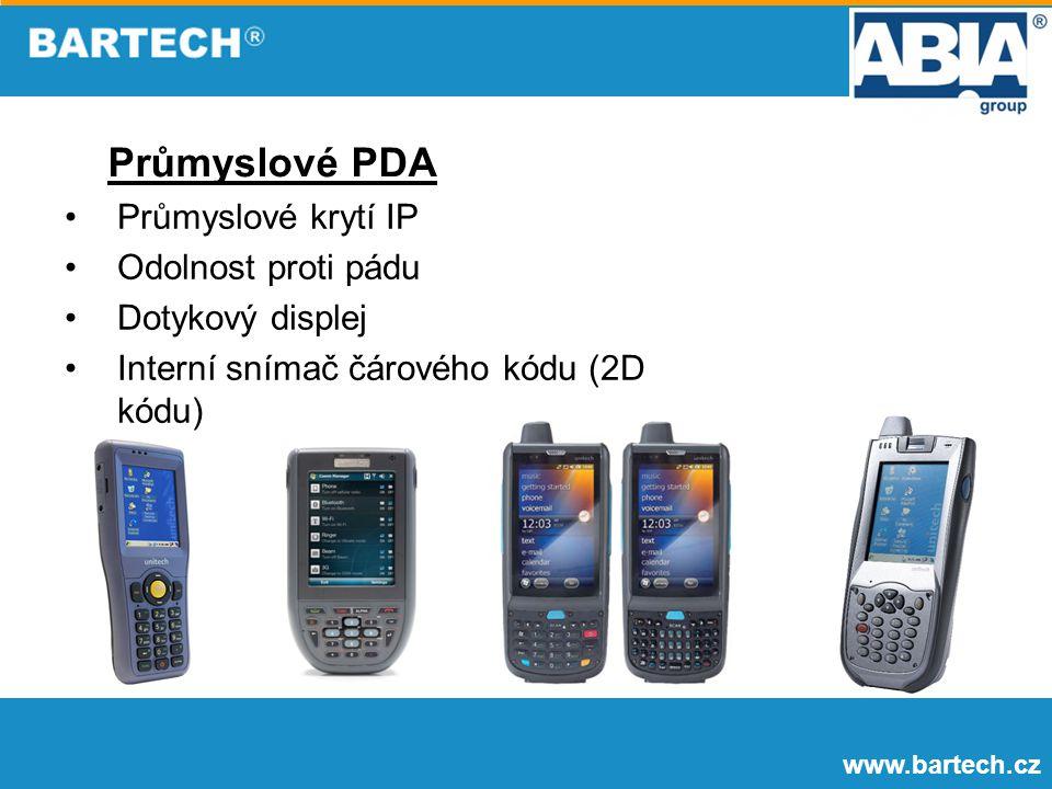 Průmyslové PDA Průmyslové krytí IP Odolnost proti pádu
