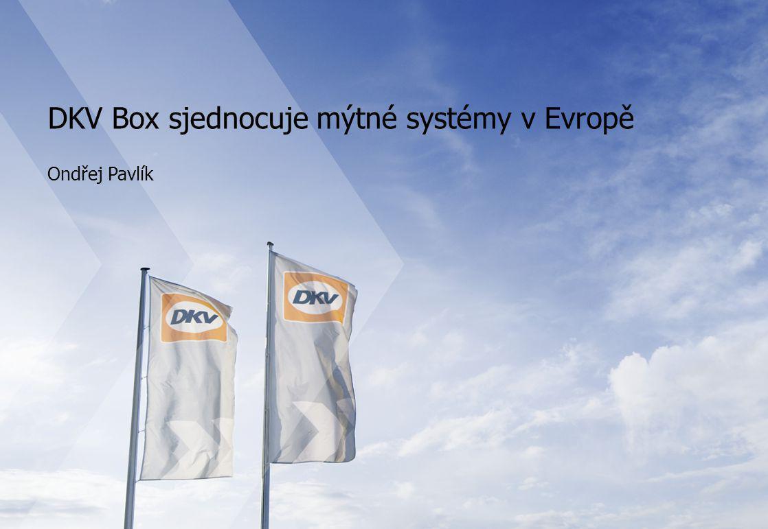 DKV Box sjednocuje mýtné systémy v Evropě
