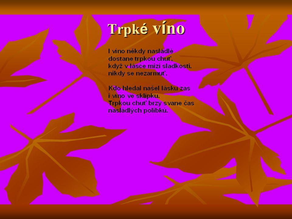 Trpké víno