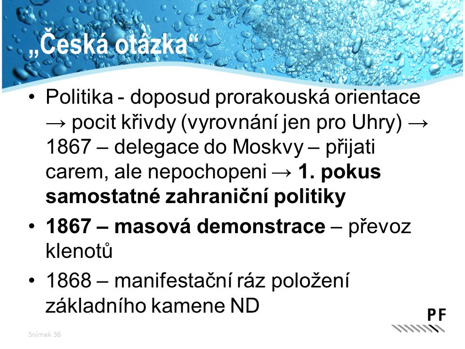 """""""Česká otázka"""