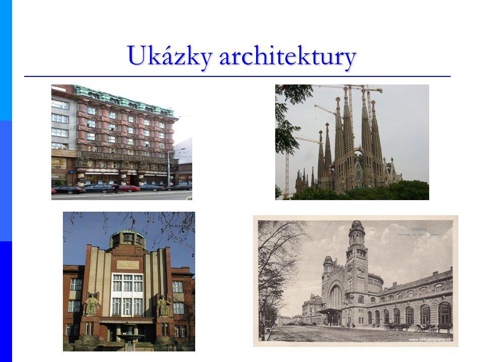Ukázky architektury