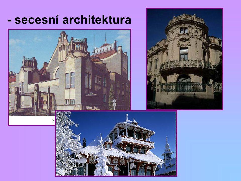 - secesní architektura