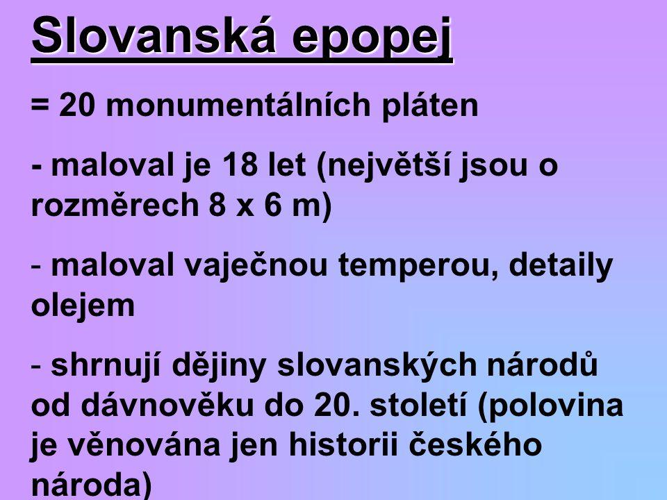 Slovanská epopej = 20 monumentálních pláten