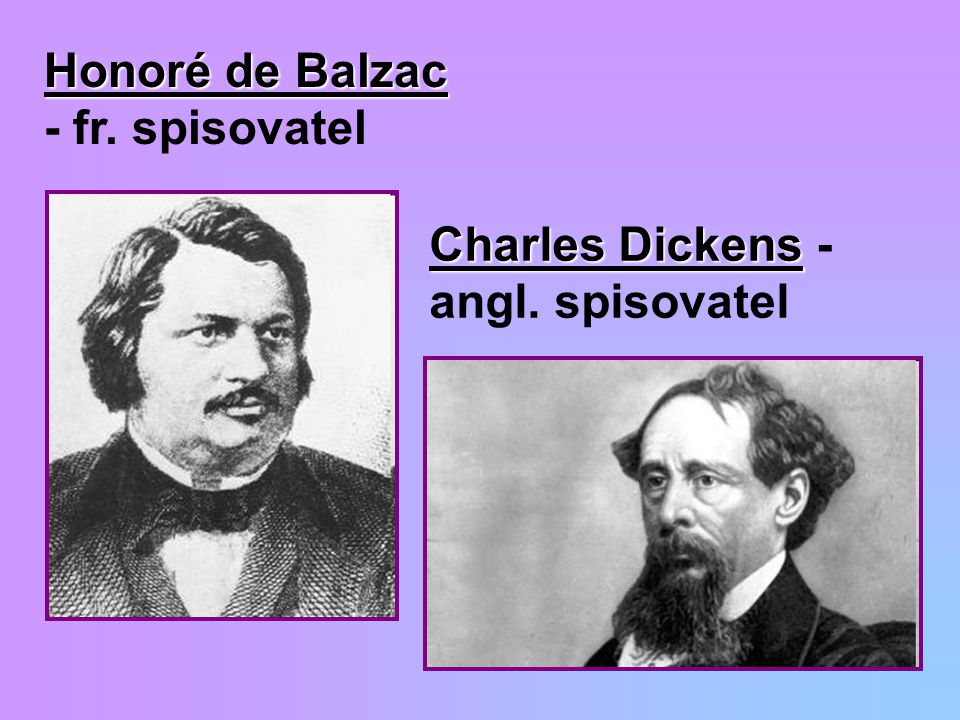 Honoré de Balzac - fr. spisovatel