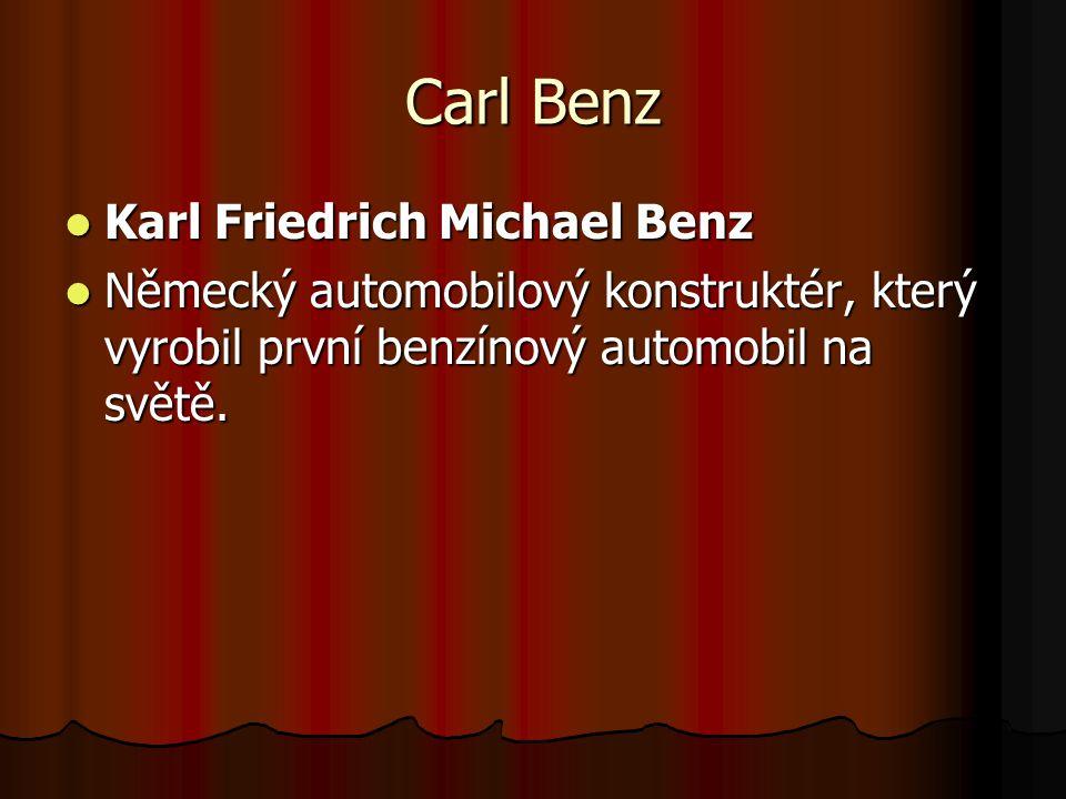 Carl Benz Karl Friedrich Michael Benz