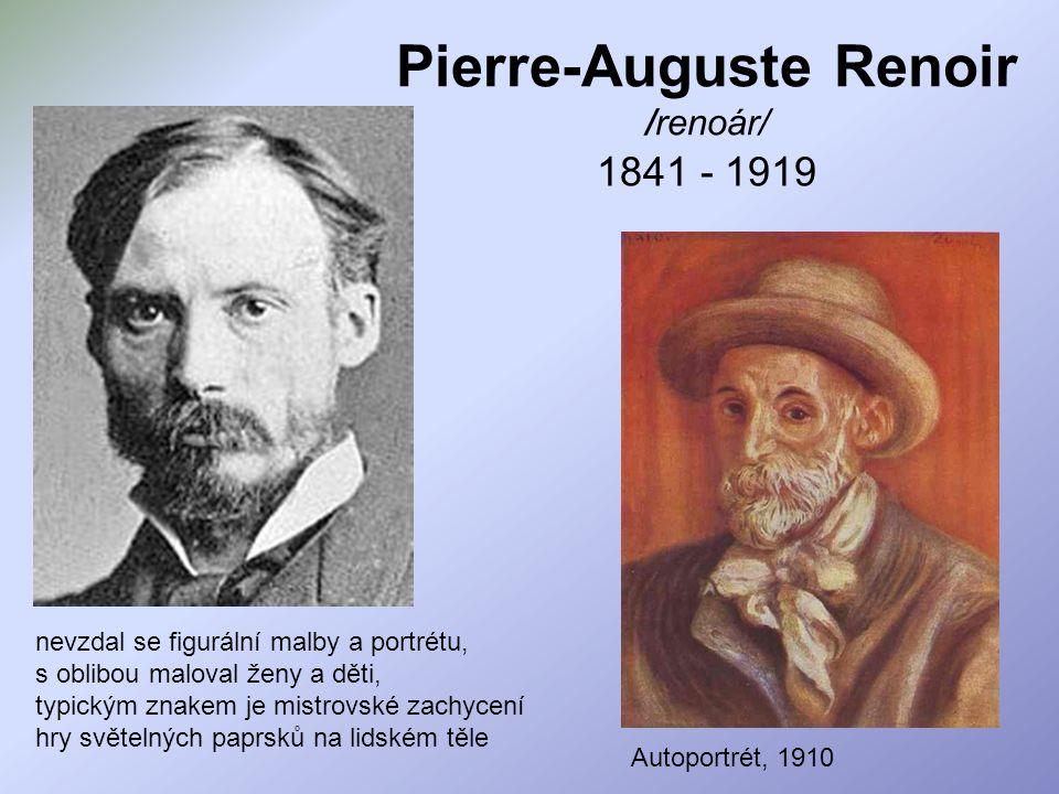 Pierre-Auguste Renoir /renoár/