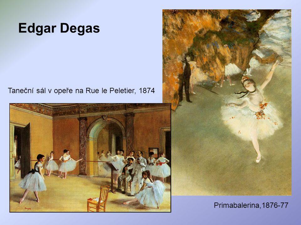 Edgar Degas Taneční sál v opeře na Rue le Peletier, 1874