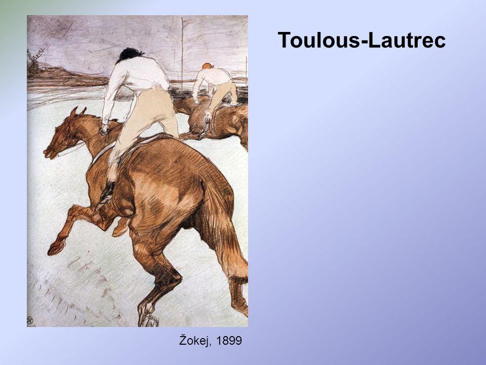 Toulous-Lautrec Žokej, 1899