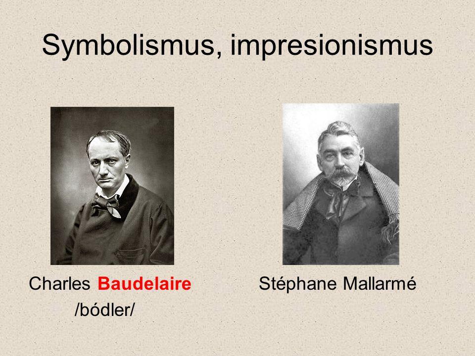 Symbolismus, impresionismus