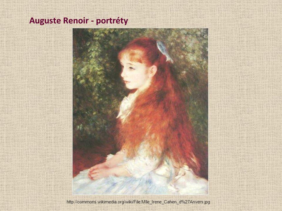 Auguste Renoir - portréty