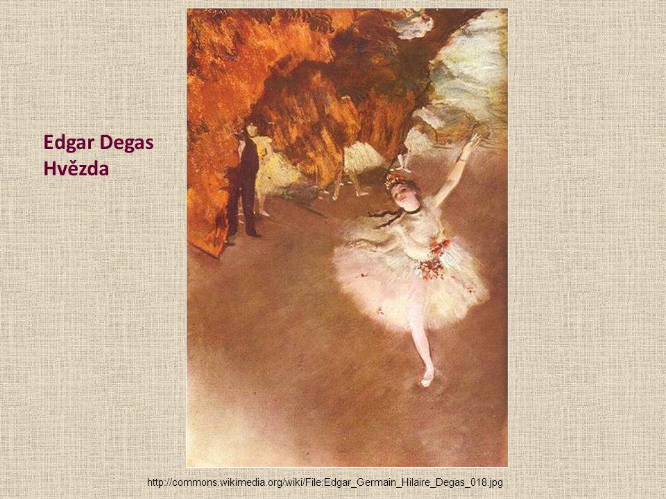 Edgar Degas Hvězda http://commons.wikimedia.org/wiki/File:Edgar_Germain_Hilaire_Degas_018.jpg.