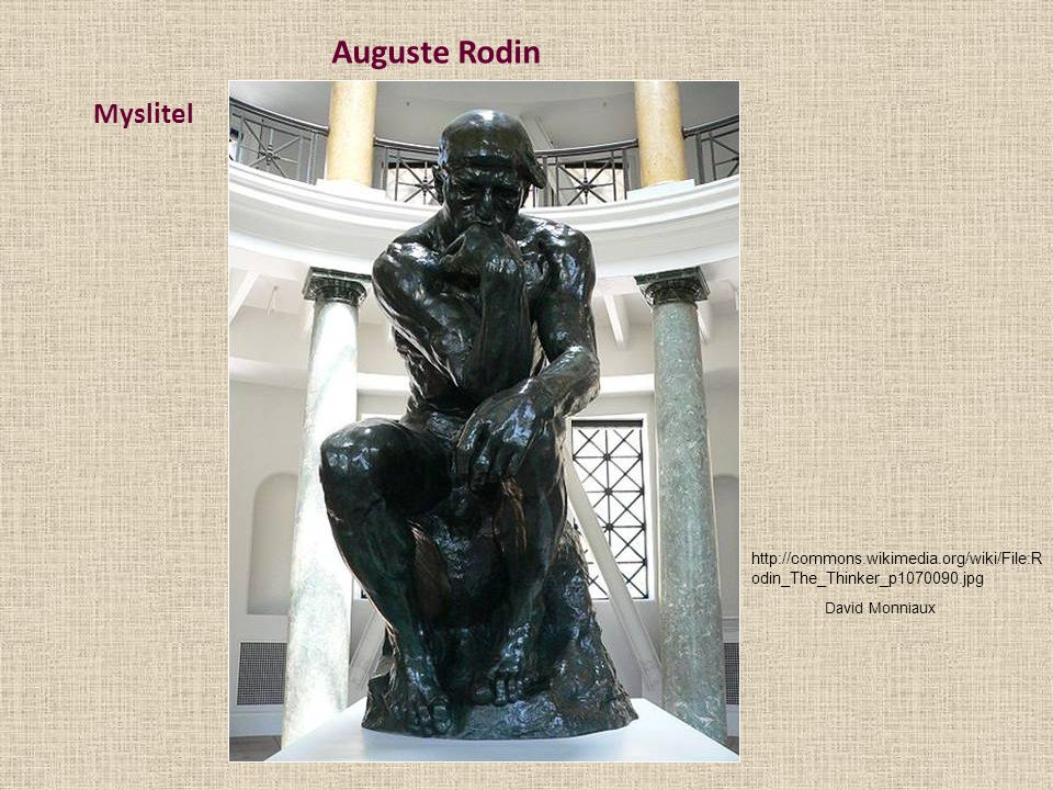 Auguste Rodin Myslitel