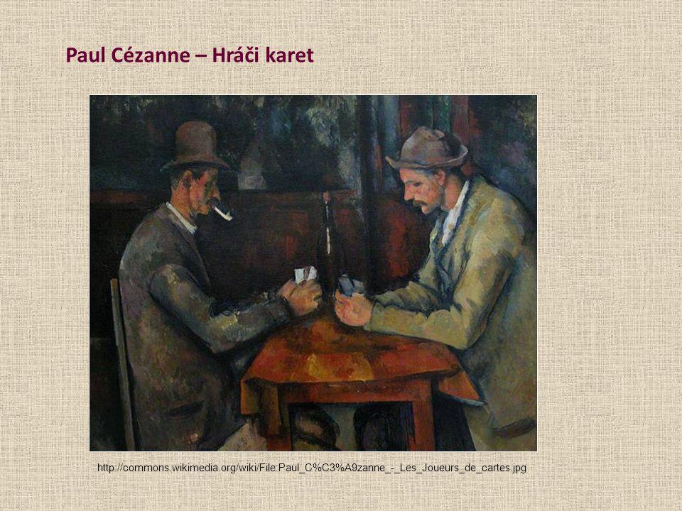 Paul Cézanne – Hráči karet
