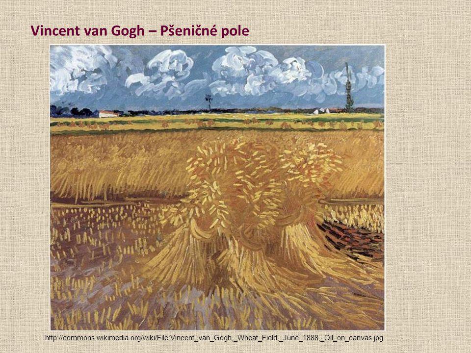 Vincent van Gogh – Pšeničné pole