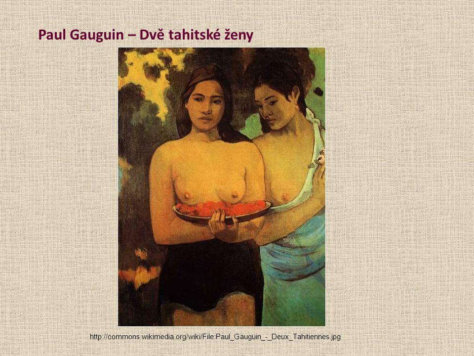Paul Gauguin – Dvě tahitské ženy