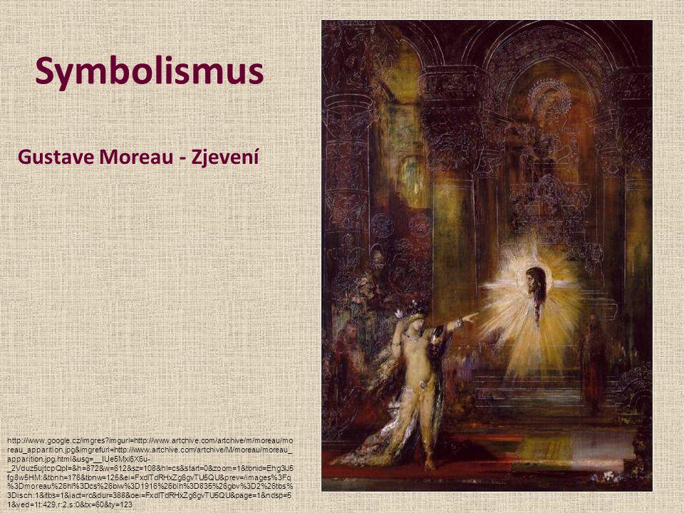 Symbolismus Gustave Moreau - Zjevení