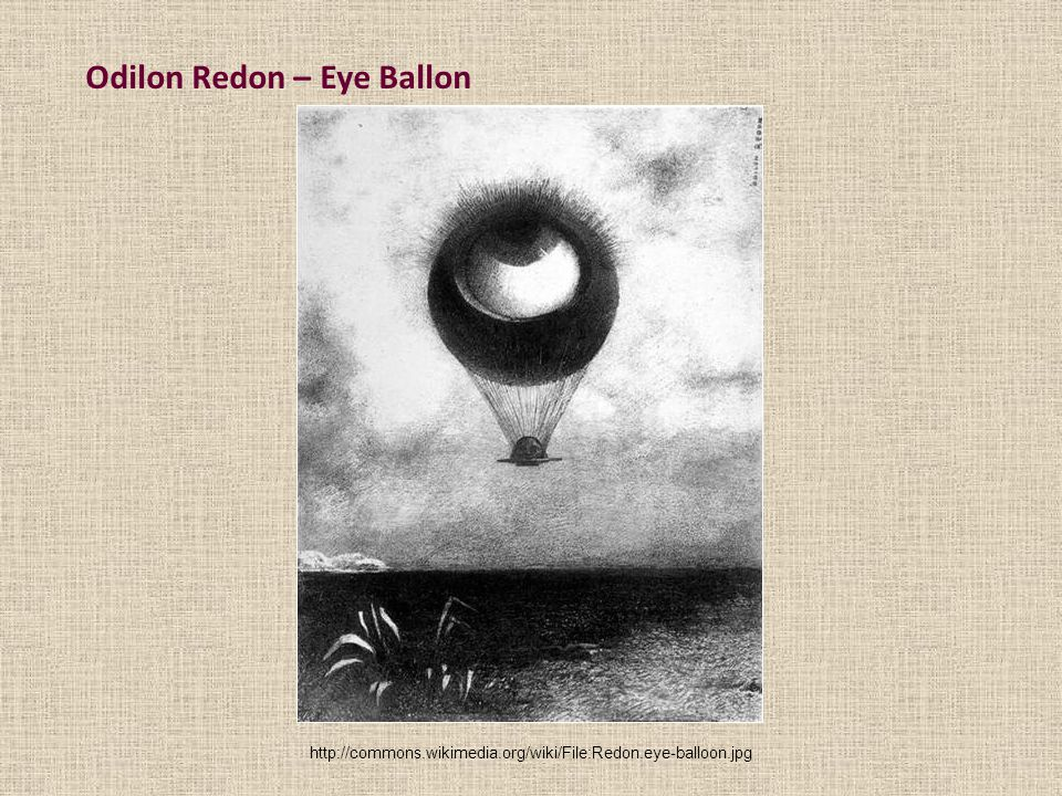 Odilon Redon – Eye Ballon