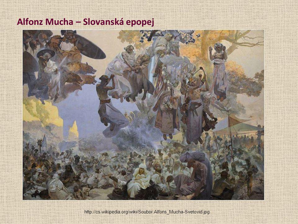 Alfonz Mucha – Slovanská epopej