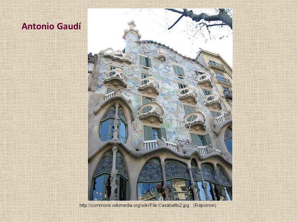 Antonio Gaudí http://commons.wikimedia.org/wiki/File:Casabatllo2.jpg