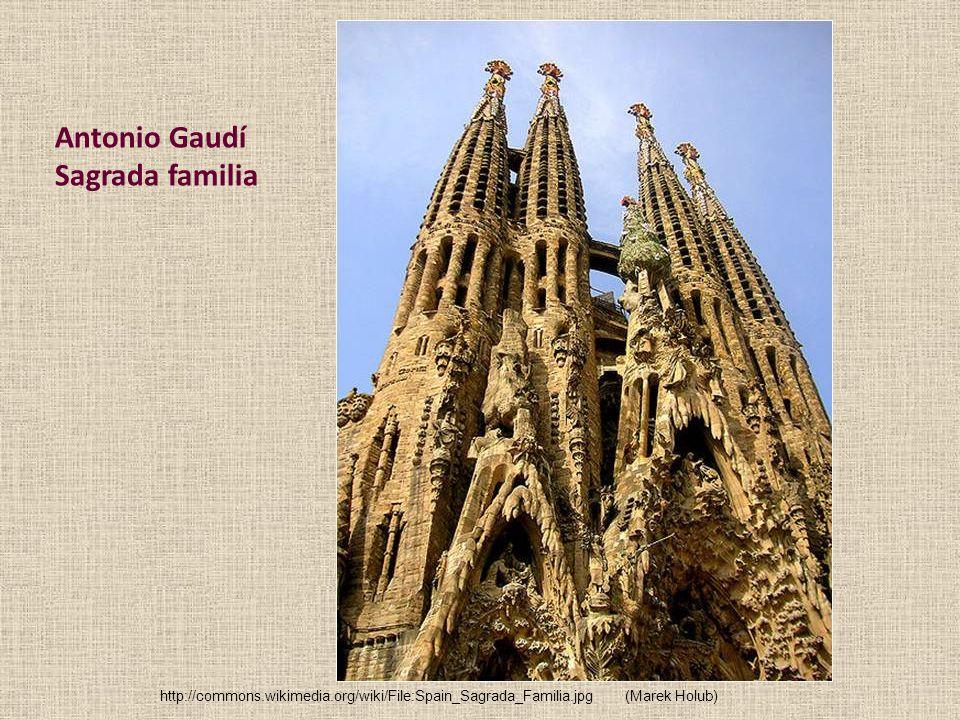 Antonio Gaudí Sagrada familia