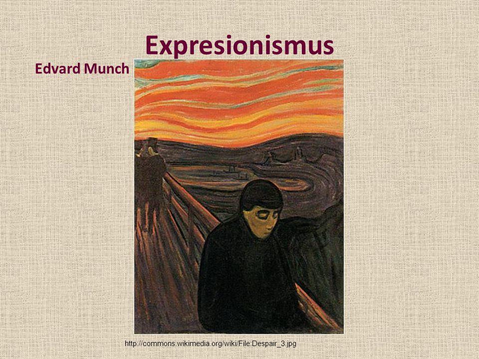 Expresionismus Edvard Munch