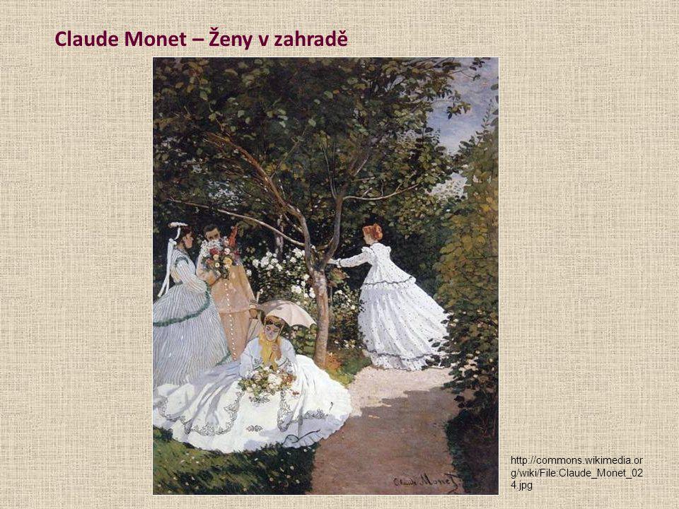 Claude Monet – Ženy v zahradě