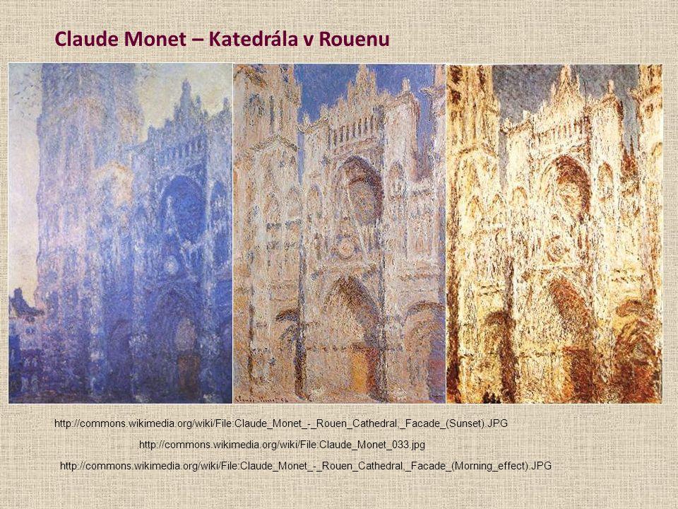 Claude Monet – Katedrála v Rouenu