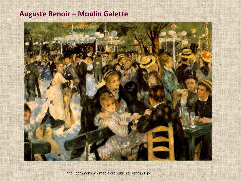 Auguste Renoir – Moulin Galette