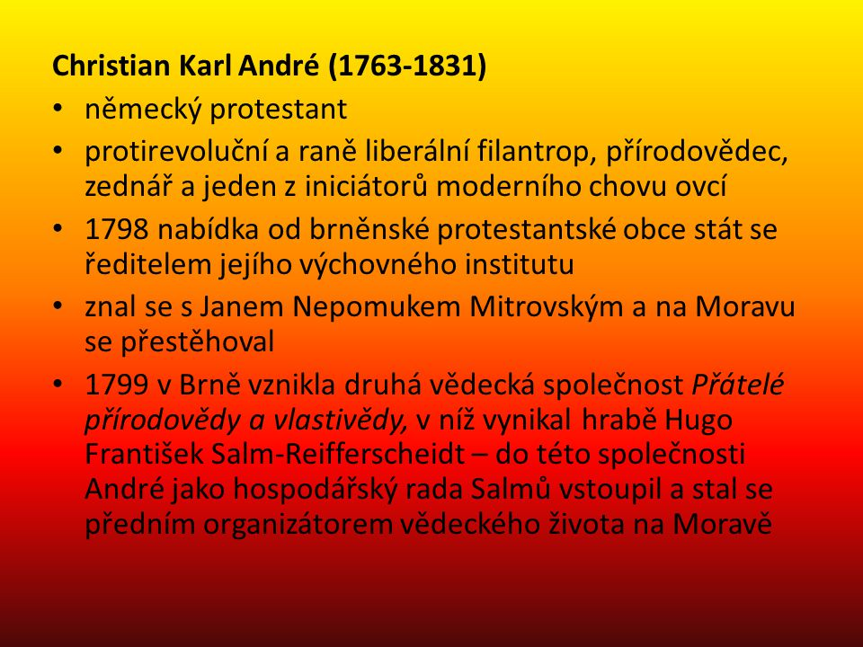 Christian Karl André (1763-1831)