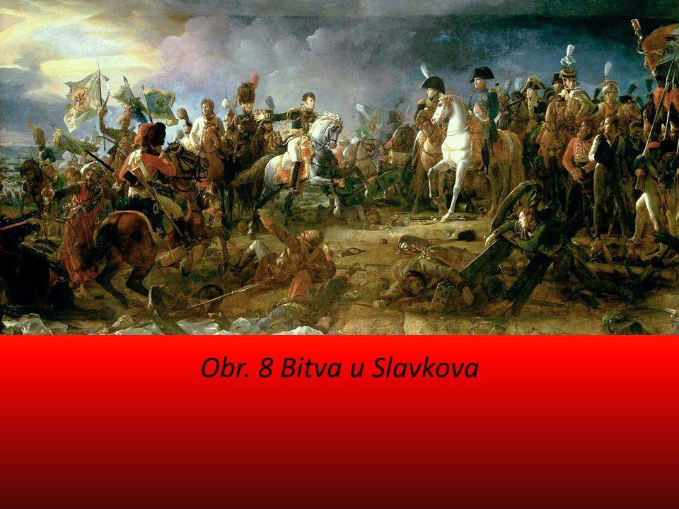 Obr. 8 Bitva u Slavkova