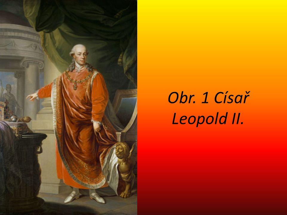 Obr. 1 Císař Leopold II.