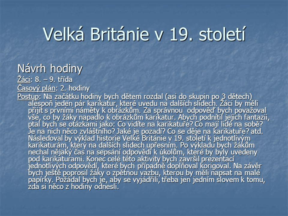 Velká Británie v 19. století