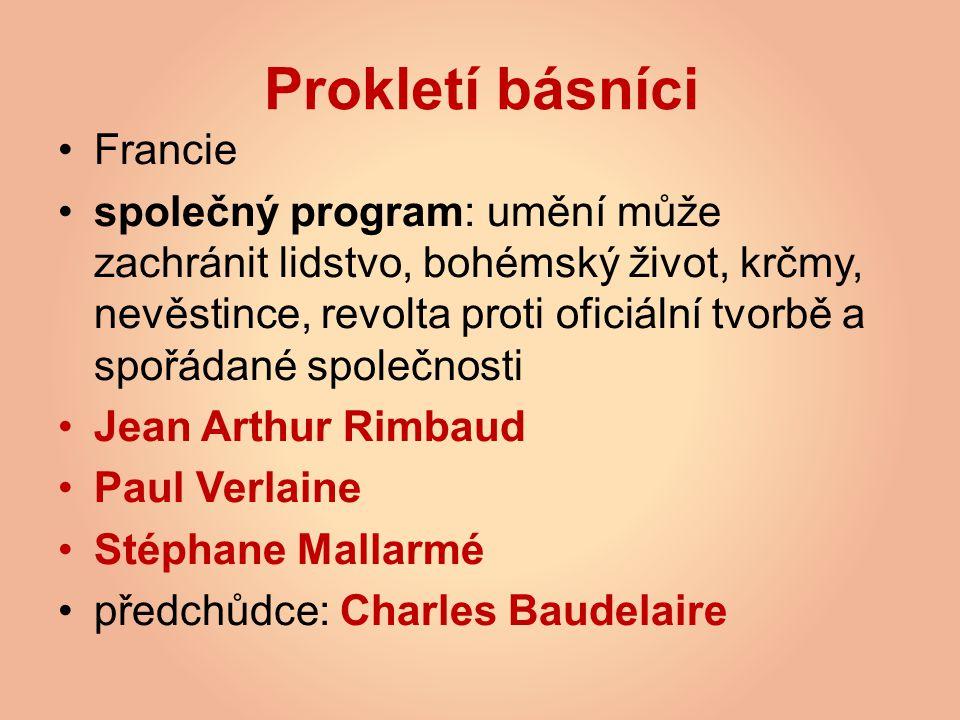 Prokletí básníci Francie